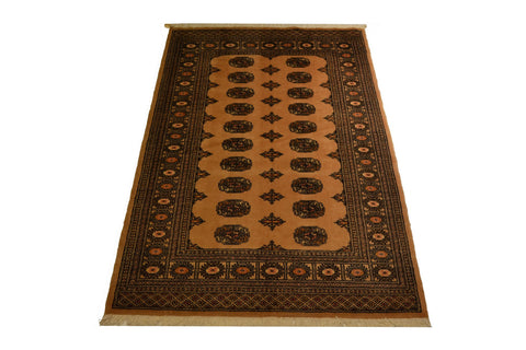 rug2618 4.3 x 6.3 Pakistani Bokhara Rug - Crafters & Weavers - 1