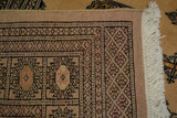 rug2618 4.3 x 6.3 Pakistani Bokhara Rug - Crafters & Weavers - 4