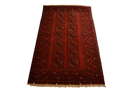 rug1065 3.5 x 6.1 Tribal Rug - Crafters & Weavers - 1