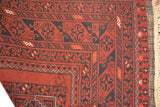 rug1065 3.5 x 6.1 Tribal Rug - Crafters & Weavers - 3