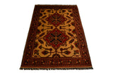 rug3009 3.11 x 5.10 Tribal Kargai Rug - Crafters & Weavers - 1