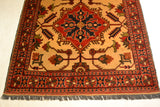 rug3009 3.11 x 5.10 Tribal Kargai Rug - Crafters & Weavers - 2