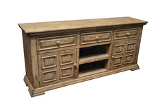 Greenview 72 inch Whitewashed TV Stand - Crafters & Weavers - 1