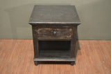 Greenview Charcoal End Table - Crafters & Weavers - 7