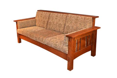 Handmade Amish McCoy Sofa - Crafters & Weavers - 1