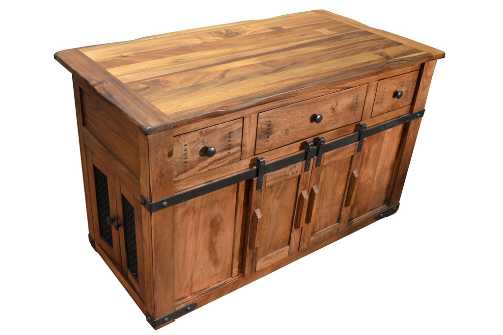 Crafters And Weavers Kitchen Island