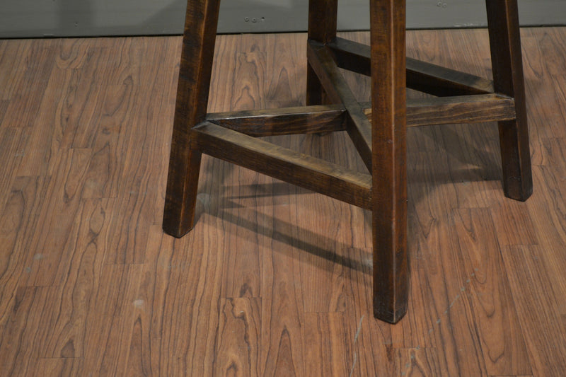 Granville Stationary Bar Stool - Crafters & Weavers - 5