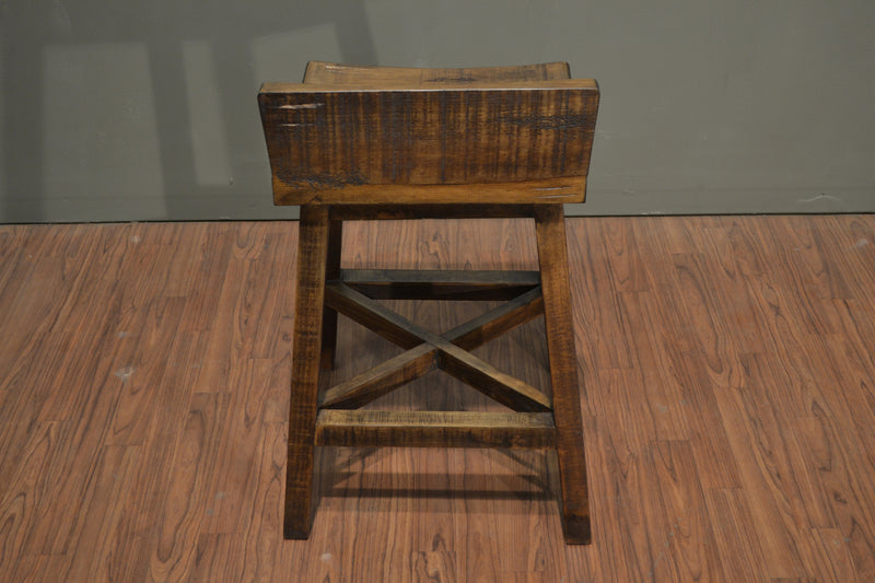 Granville Stationary Bar Stool - Crafters & Weavers - 4