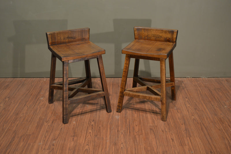 Granville Stationary Bar Stool - Crafters & Weavers - 6