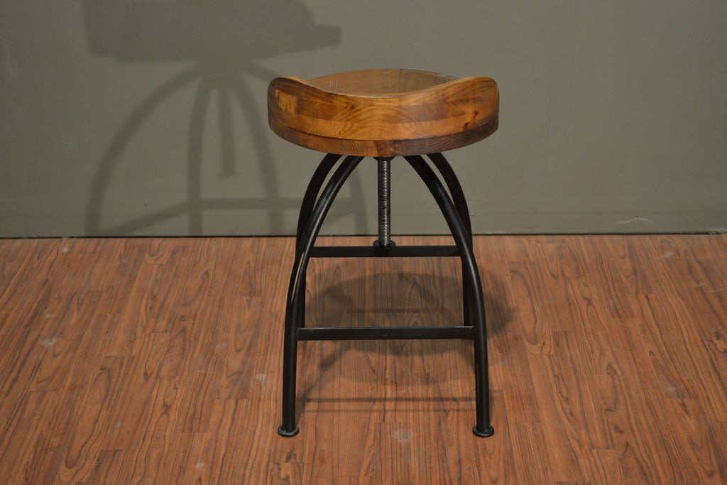 ... Ashland Low-Back Adjustable Height Bar Stool - Crafters u0026 Weavers - 5 & Crafters and Weavers in business for almost 20 years in USA. islam-shia.org