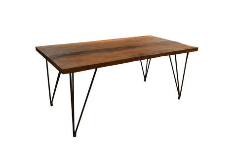 Ashland Hair Pin Leg Dining Table - Crafters & Weavers - 1