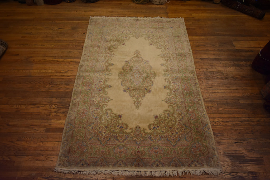 "Antique Persian rug / Oriental Rug 5'10"" x 9'4"""