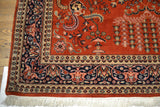 Rug3653 6.7 x 9.7 Indian Rug - Crafters & Weavers - 3