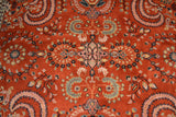 Rug3653 6.7 x 9.7 Indian Rug - Crafters & Weavers - 2