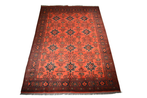 rug3656 6.5 x 9.6 Unkhoi Rug - Crafters & Weavers - 1