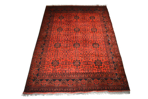 rug3657 6.8 x 9.7 Unkhoi Rug - Crafters & Weavers - 1