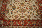 rug3675 6.1 x 9 Indian Rug - Crafters & Weavers - 2