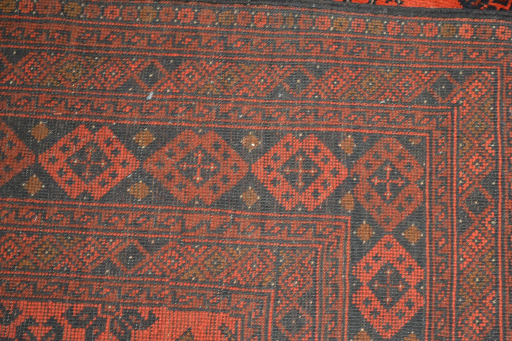 "Tribal Unkhoi Oriental Rug 6'7"" x 9'7"" - Crafters and Weavers"