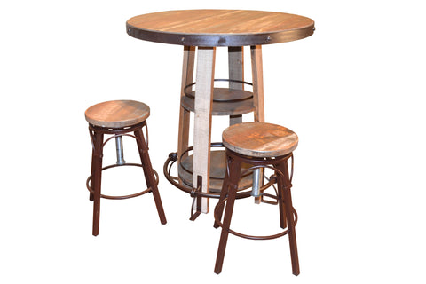 Bayshore Pub Table Set - Crafters & Weavers - 1