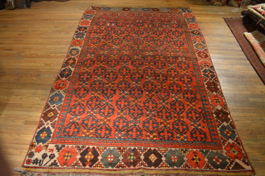 "Antique Kirgiz / Oriental Rug 6'3"" x 11'0"""