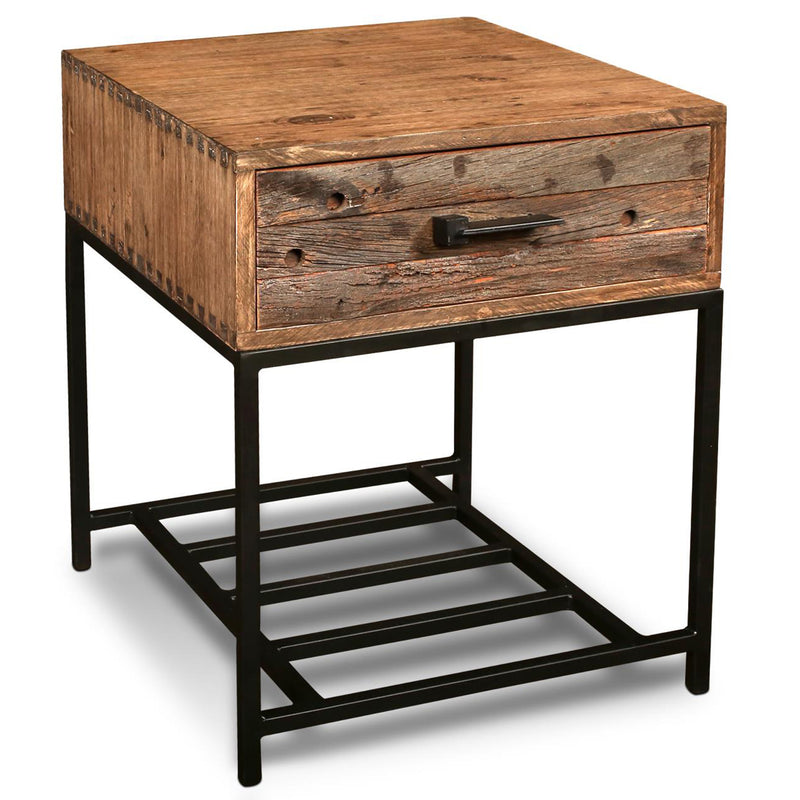Atwood 1 Drawer End Table