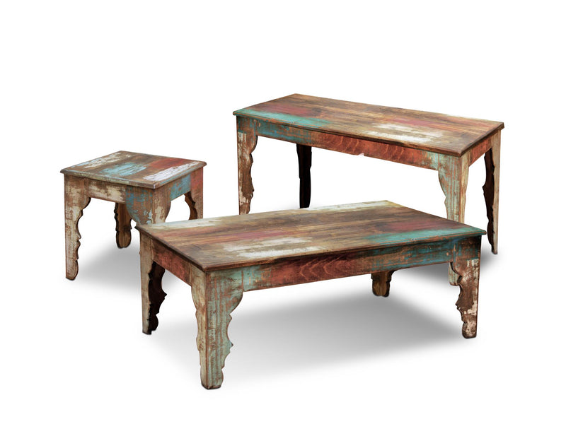 La Boca Carved Leg Console Table