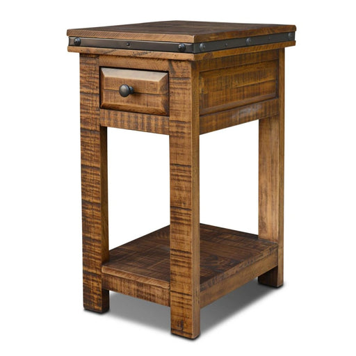 Addison Side Table - Dark - Crafters and Weavers