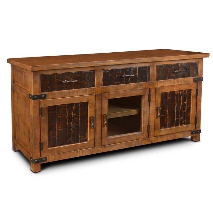 "Marrone TV Stand - 70"" - Crafters and Weavers"