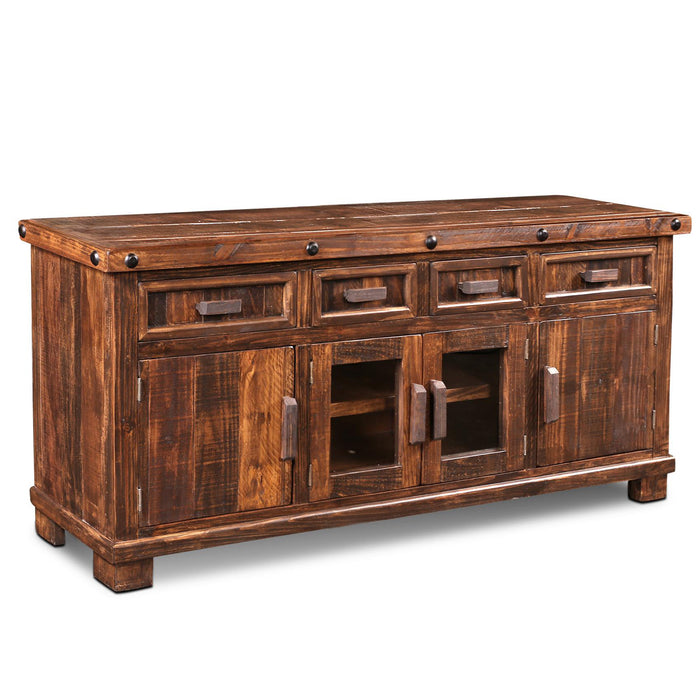 Westgate Rustic Brown TV Stand - 70""