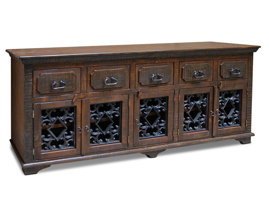 Keystone Solid Wood Sideboard - 82""
