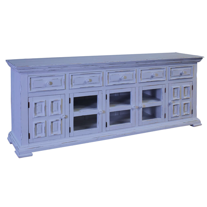 "Keystone Panel Door TV Stand - 83"" (2 Colors Available)"