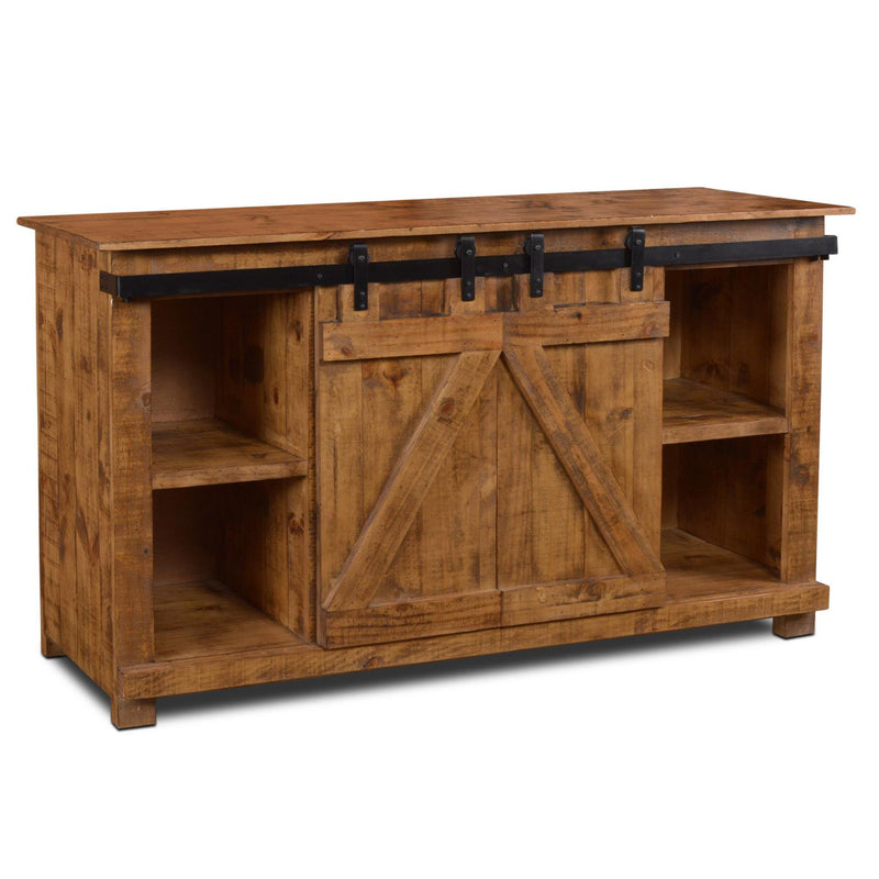 "Westgate 60"" Sliding Barn Door TV Stand (2 Colors Available)"