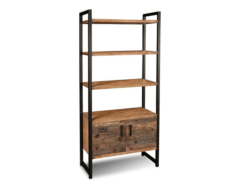Atwood Industrial Bookcase