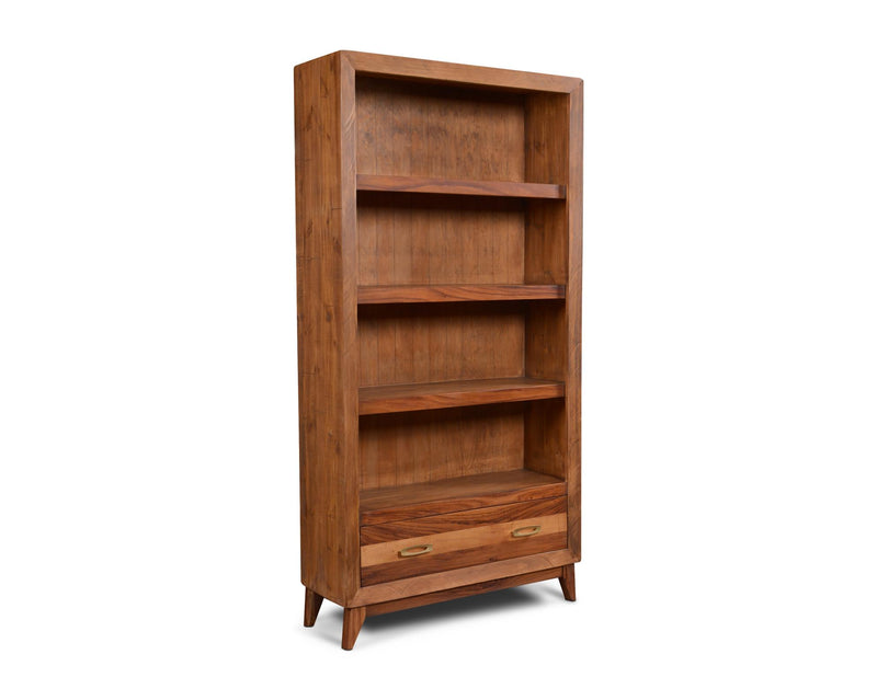 Midtown 1 Drawer Open Shelf Bookcase