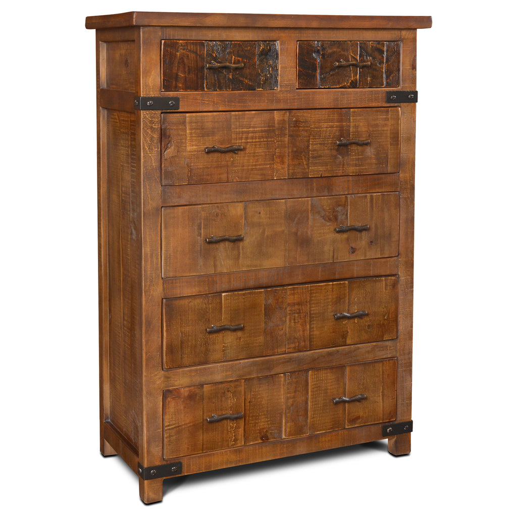 Marrone 6 Drawer Highboy Dresser