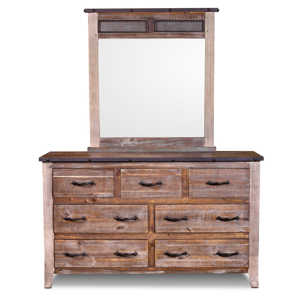 Addison Loft 7 Drawer Dresser