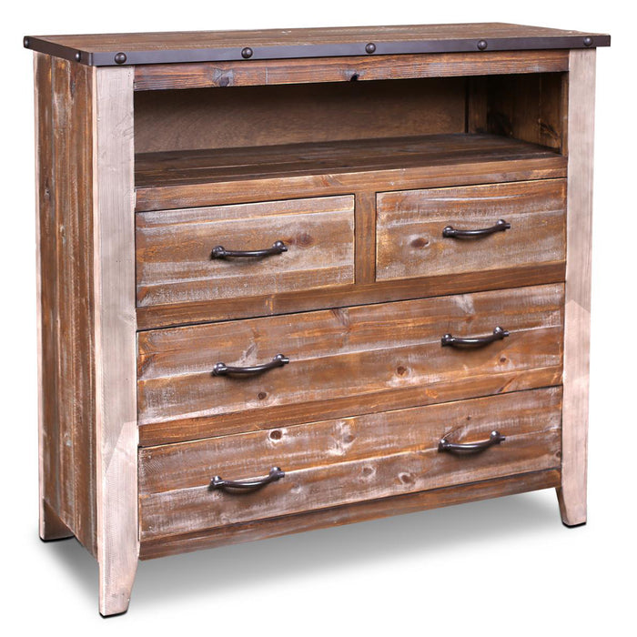Addison Loft 4 Drawer Media Chest
