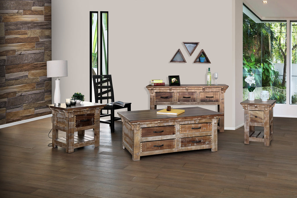 Westwood Mixed Wood Coffee Table