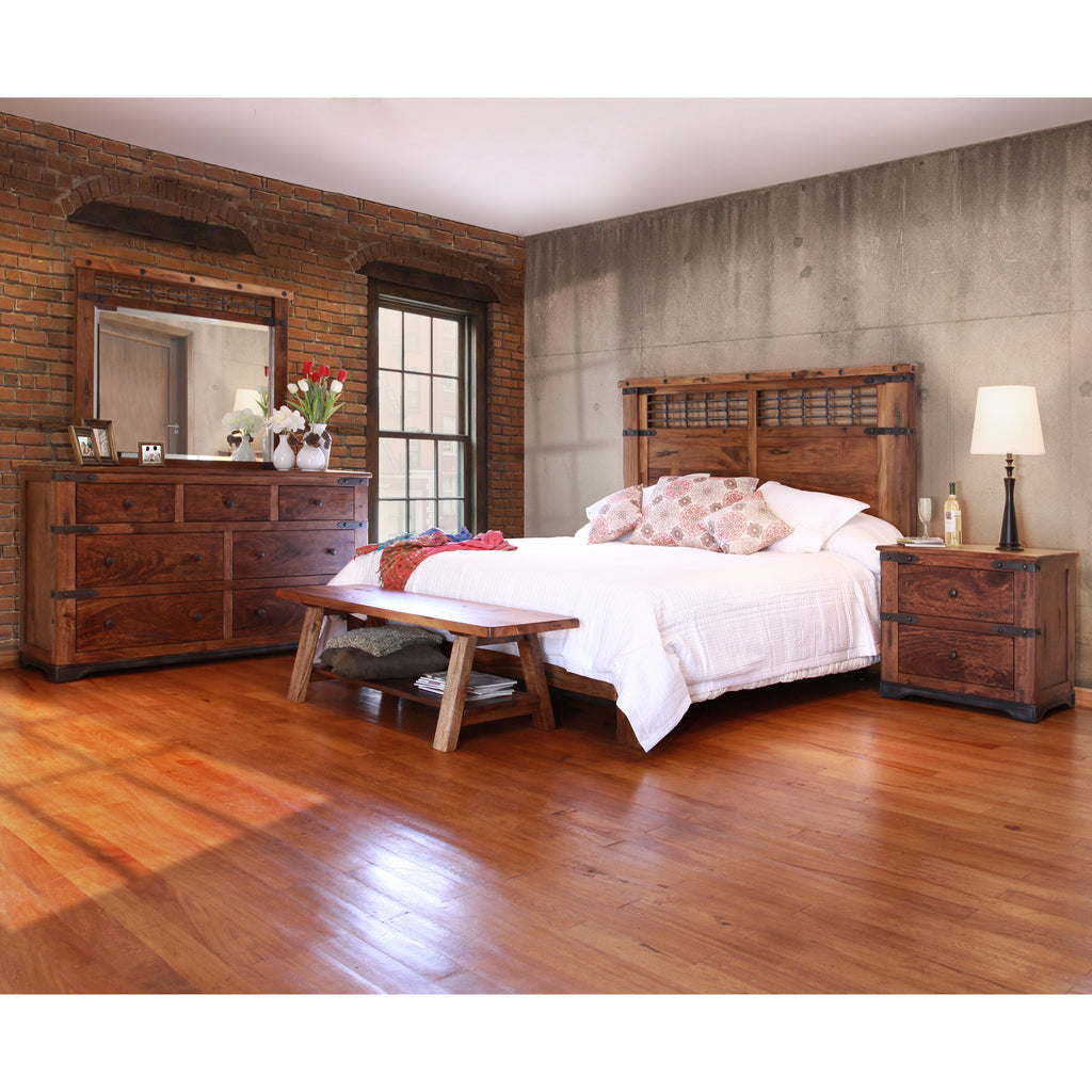 Granville Parota 5 Piece Bedroom Set