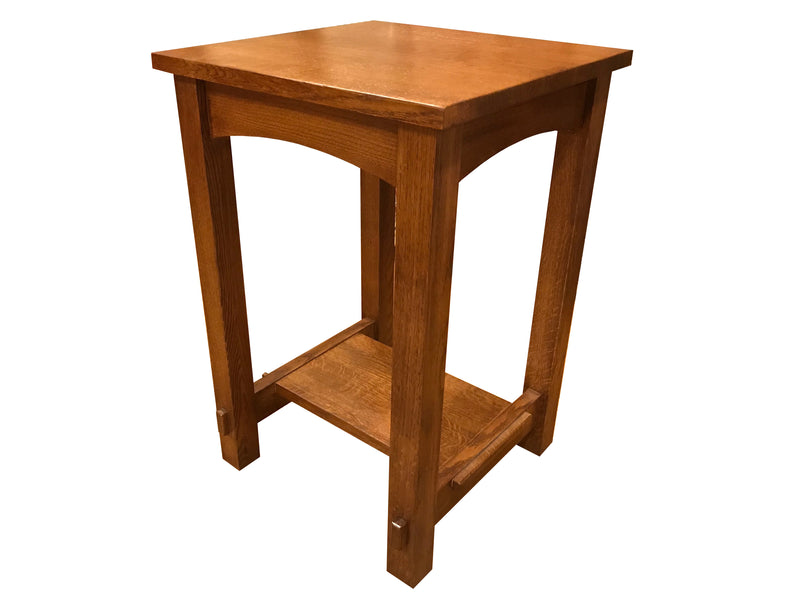 Mission Mortise and Tenon End Table