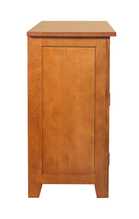 Mission 2 Door 2 Drawer Cabinet - Michael's Cherry