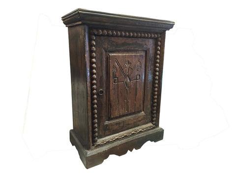 Artifact Antique End Table - Crafters & Weavers - 1