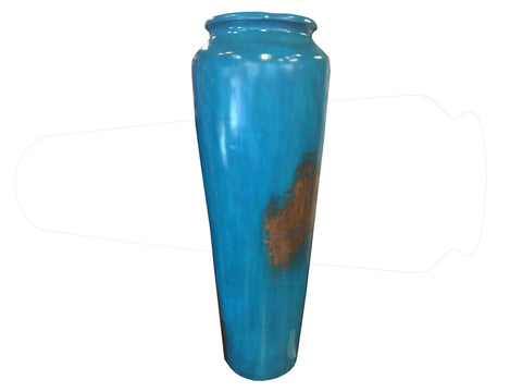 Painted Plaster XL Vase - Crafters & Weavers