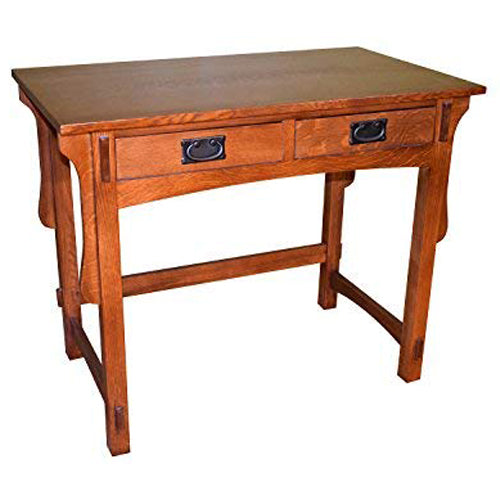 Arts & Crafts Library Table with Removable Organizer