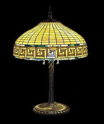 Tiffany style Stained glass Table Lamp HA4001 - Crafters & Weavers - 1