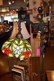 Tiffany style Stained glass Bridge Lamp / Reading Lamp DYL10-21BR - Crafters & Weavers - 2