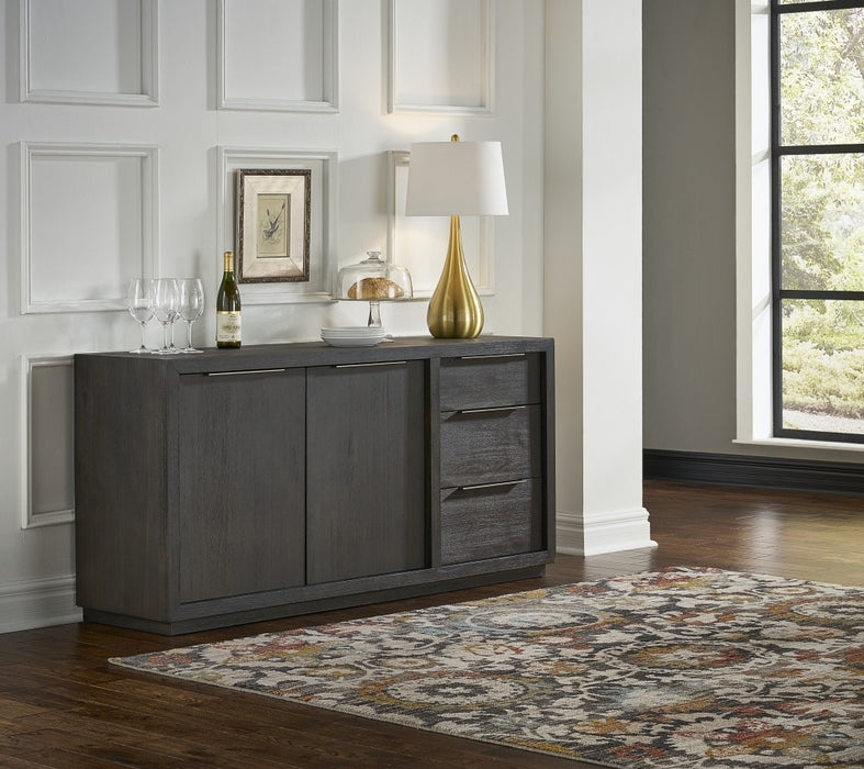 Solstice Modern 3 Drawer Sideboard / Media Console