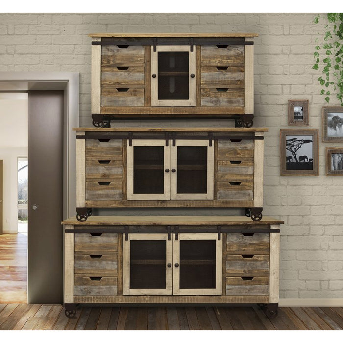 Bayshore Sliding Door TV Stand - 70""