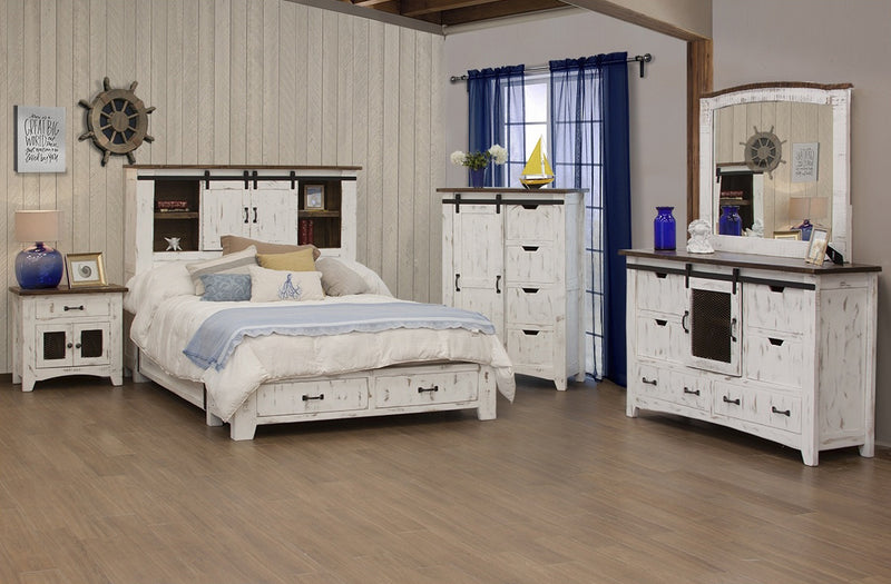 Bayshore Bedroom 5 Piece Set - Multicolor
