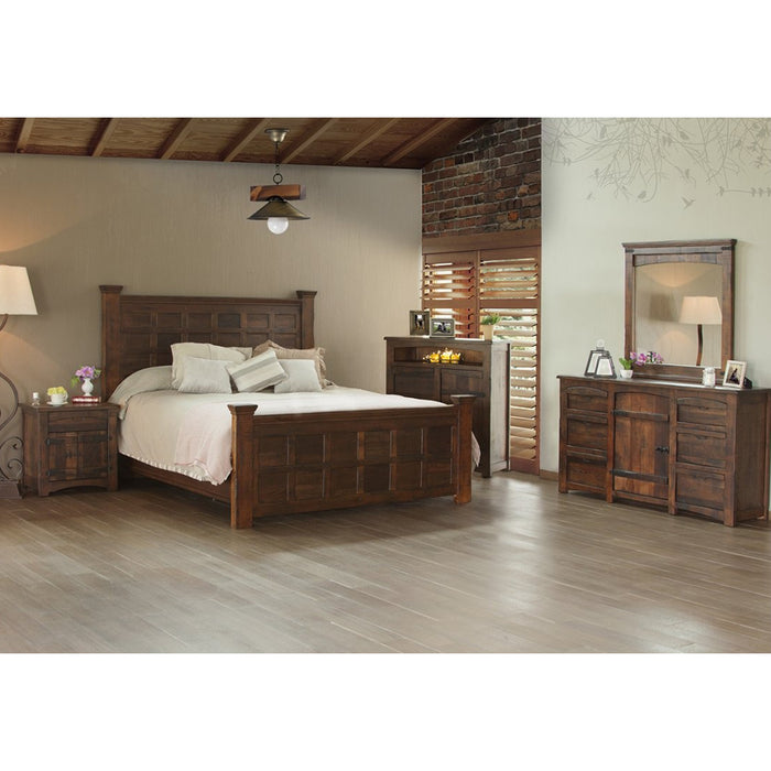 Atlantic Solid Panel Bedroom 5 Piece Set